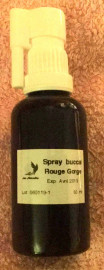 Spray buccal Rouge Gorge